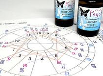 「アロマテラピー占星術講座」1日コースでは、「アロマテラピー占星術カウンセリング体験」を行います。